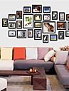 Collection Black Frame mur Photo Set de 26