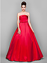 Prom / Formal Evening / Military Ball / Black Tie Gala Dress - Elegant / Vintage Inspired Plus Size / Petite Ball Gown Strapless