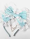 Bijuterii Lolita dulce Veșminte de cap Prințesă Lolita Accesorii Accesoriu de Păr Nod Papion Pentru Bumbac