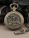 Men's Round Dial Military United States Army Style Quartz Analog Pocket Watch Cool Watch Unique Watch