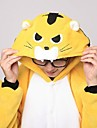 kigurumi Pyjamas Tiger Collant/Combinaison Chaussons Fete / Celebration Pyjamas Animale Halloween Mosaique polaire Kigurumi Pour Unisexe