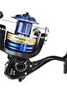 Fiskerullar Spinning Reels 5.2:1 8.0 Kullager HÖGERHÄNT / utbytbar / VÄNSTERHÄNT Sjöfiske / Bait Casting / Spinning / Färskvatten Fiske