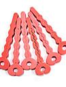 6st Soft Sponge Key Formad Hårvård Roller Set