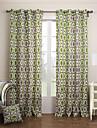 Deux Panneaux Le traitement de fenetre Moderne Chambre a coucher Coton Materiel Rideaux Tentures Decoration d\'interieur For Fenetre