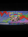 baoguang®rainbow război de țesut război de țesut de culoare de moda stabilit (600pcs benzi, 1 clipuri pachet, 1 războaie de țesut, 1 cârlig)