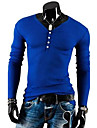 Men\'s Casual Fashion V Neck T-Shirt