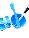 skönhet DIY handen / ansikte / fot mask set (slumpvis färg)