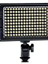 c-160s llevado portable 160pcs luz de video LED perlas de alto brillo con difusor