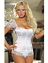 Hot Sexy Lingerie Satin Plastic Boning Corset Shapewear(More Colors) Shaper