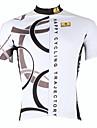 ILPALADINO Maillot de Cyclisme Homme Manches courtes Velo Respirable Sechage rapide Resistant aux ultraviolets Maillot Hauts/Tops100 %