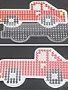 1st mall klart Perler pärlor pegboard röd lastbil mönster för 5mm Hama Pärlor smälta pärlor