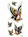 vattentät glede tillfällig tatuering klistermärke tatuering prov form för kroppsutsmyckning (18.5cm * 8.5cm)