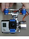 fpv GoPro Hero 3 camera PTZ cardan pour monter dji fantome X525 F450 F550 avec des moteurs& controleur cardan