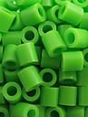 ca 500pcs / påse 5mm limegröna Perler pärlor säkrings pärlor Hama Pärlor DIY pussel eva material safty för barn