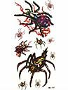 araignee impermeable tatouage temporaire echantillon autocollant tatouages moule pour l\'art corporel (18.5cm * 8.5cm)
