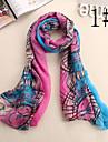 laine mousseline de tournesol motif foulard des femmes Ludy