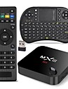 mxiii Amlogic S802 xbmc entierement charge tv box 2g RAM 8g rom RII i8 kit de faisceau de clavier qwerty airmouse 2,4 g 5g dual wifi