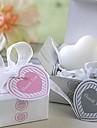 julklappar mini hjärtformade formen tvål (slumpvis färg)