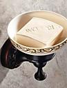 """Tvålkopp Oljegniden brons Väggmonterad 150 x 82x 66mm (5.9 x 3.22x 2.59"""") Mässing / Keramisk Antik"""