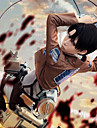Attack on Titan, Levy The Survey Corps - cosplay-kostym, specialförbandsuniform