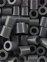 aproximativ 500pcs / sac de 5 mm margele de siguranțe gri margele HAMA puzzle DIY eva safty materiale pentru ambarcațiuni copii