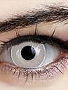 naruto Neji Hyuuga Ranmaru blanc lentilles de contact cosplay pures (1 paire)