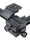 4 way point macro curseur de rail / prises de vue rapprochees pour Canon, Nikon, Sony reflex Pentax