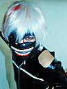 Mask Inspirerad av Tokyo Ghoul Cosplay Animé Cosplay Accessoarer Mask Svart Läder Man