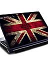 """britain flagga union jack mönster laptop skyddande Vinylsticker för 15,6 """""""
