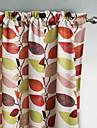Philips jeune - deux panneaux multi couleur classique contemporain laisse rideaux opaques
