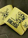 Väska / Plånböcker Inspirerad av One Piece Tony Tony Chopper Animé Cosplay Accessoarer Plånbok Gul PU Läder Man