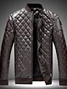 Dibai män mode fritid monterad jacka