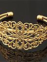 plaque vintage cool bracelet 18k de fleur creuse trapu platine d\'or des femmes manchette bracelet de bracelet pour les femmes