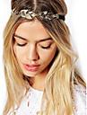 frunze de aur de epocă păr lanț cap hairband cristal Banda bijuterii de par accessires bijuterii cap