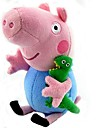 Peppa gris george fyllda leksak plysch docka