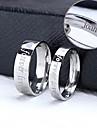 Personlig Smycken-Klassisker Modern Kreativ- avRostfritt stål- iSilver-Ringar