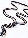 Dame Coliere Vintage Aliaj Șarpe La modă stil minimalist Negru Rosu Albastru Roz Auriu Bijuterii Zilnic 1 buc