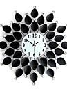 la mode moderne et creative forme nouveaute mur de salon horloge