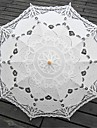 Beige Vintage Style Battenburglace Umbrella Wedding Bridal Parasol