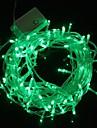 Lampe de lumiere de bande de lumiere vert 10m 9.6W noel eclair 100-conduit (plug UE, 220V)