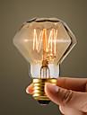 40W Retro Industrie style ampoule incandescente, forme de diamant