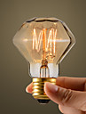 40W Retro Industry Style Glödlampa, Diamond Shape