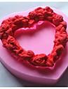 cardiaques outils en forme de couronne de l\'amour fondant gateau silicone moule a cake de decoration, l7.2cm * * w7.1cm h1.4cm