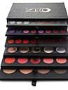 pro högkvalitativ 134 färg ögonskugga / läppglans / rouge / foundation makeup palett kosmetiska set