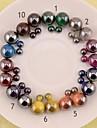 Cercei Stud Perle Reșină 6 7 8 9 10 Bijuterii Pentru Nuntă Petrecere Zilnic Casual Sport