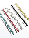 multicolor 40-pin 2.54mm delning stiftlister (10 st)