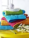 sensleep® 3st handduk pack, flerfärgade regnbågedesign 100% bomull handduk