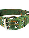 Dog Collar Adjustable/Retractable / Police/Military Green Nylon