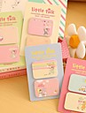 Little Girl Self-Stick Notes Set(1 PCS Random Color)