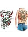 1 st vattentät stor flygande drake uppbackning mönster tatuering klistermärken